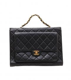 CHANEL JUMBO BIG CC 2 Face HANDBAG
