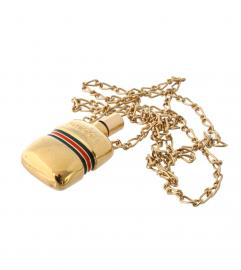 GUCCI PARFUM BOTTLE NECKLACE