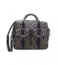 Dior vintage trotter boston duffle bag