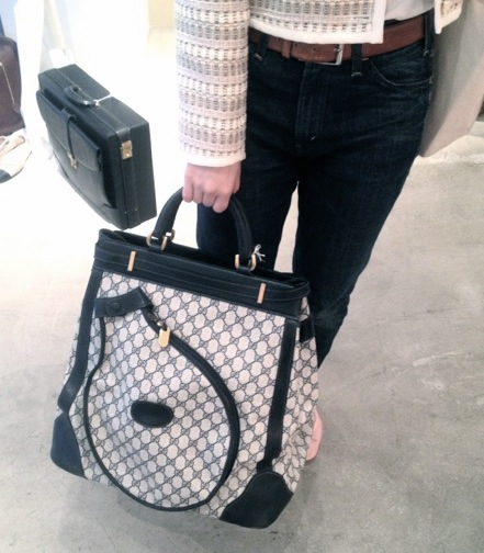 Tennis bag by Gucci