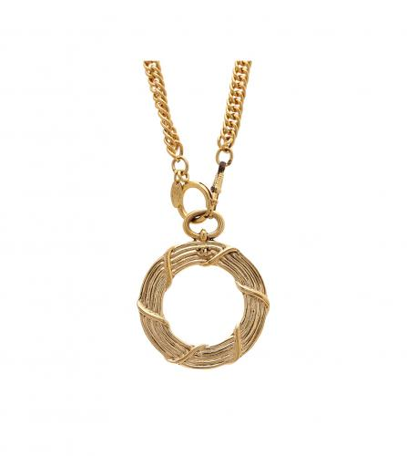 CHANEL VINTAGE LOUPE NECKLACE