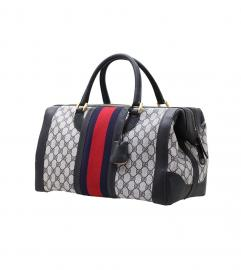 GUCCI VINTAGE DUFFLE BOSTON BAG