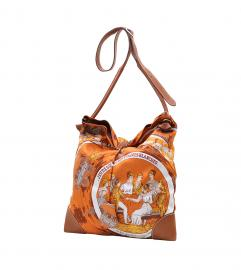 HERMES SILK BAG