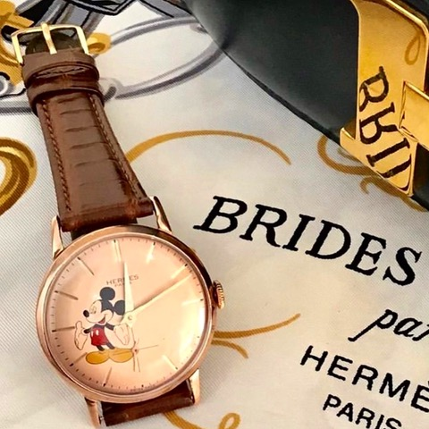 Hermes Mickey Mouse Watch by Baume & Mercier
