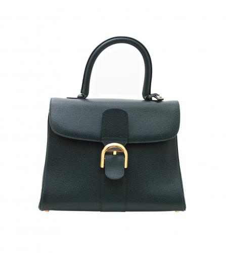 DELVAUX GREEN HANDBAG
