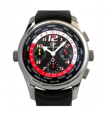 GIRARD-PERREGAUX WORLD TIME CHRONOGRAPH WATCH