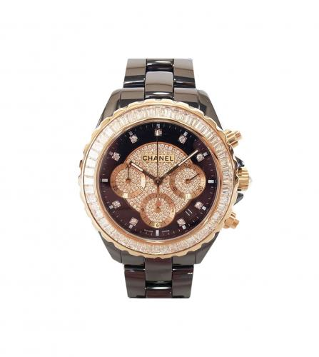 CHANEL J12 CHRONOGRAPH WATCH