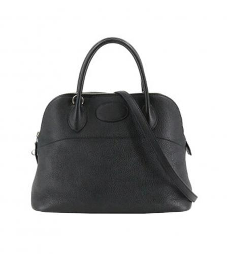HERMES BOLIDE 31 BLACK BAG