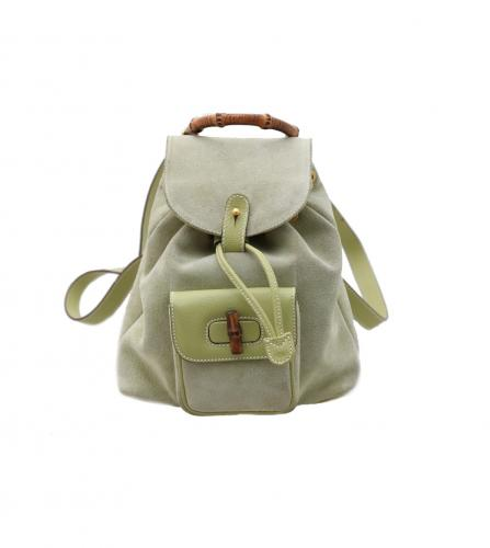 GUCCI LIGHT GREEN BACKPACK