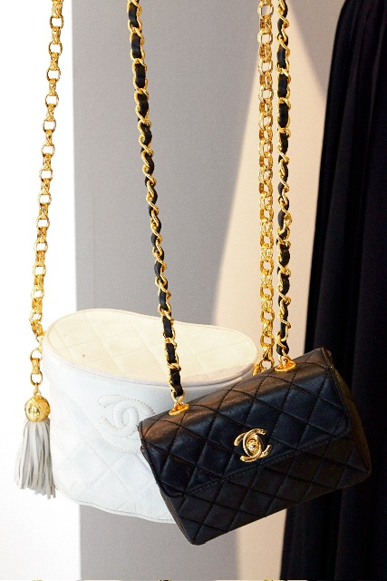 Chanel Bags black & white