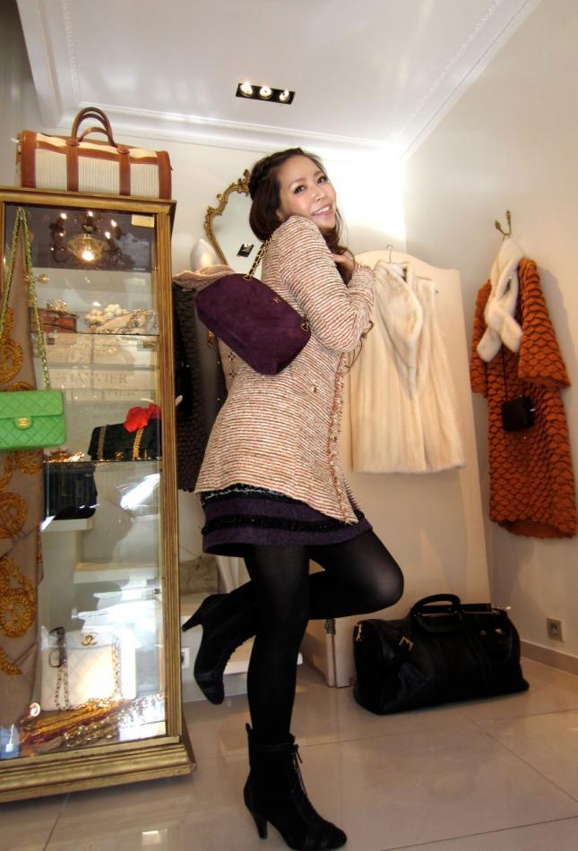 Our Happy customer at Paris Store le Marais