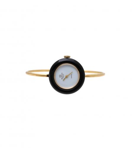 GUCCI VINTAGE INTERCHANGEABLE BEZELS BANGLE WATCH