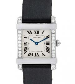 CARTIER TANK CHINOISE PLATINIUM WATCH