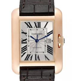CARTIER TANK ANGLAISE ROSE GOLD WATCH