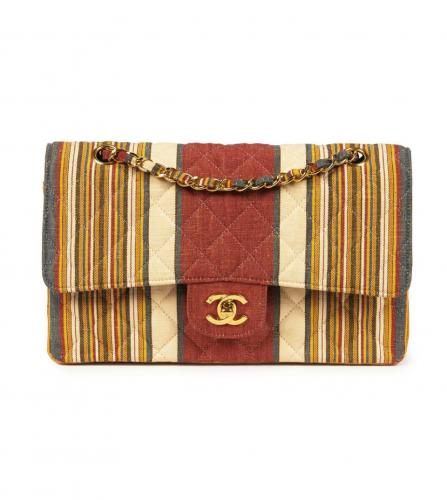 CHANEL CANVAS MULTI COLOR 25