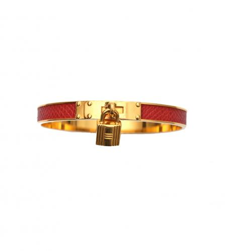HERMES KELLY CUFF RED