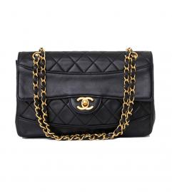 CHANEL VINTAGE BLACK  SHOULDER BAG