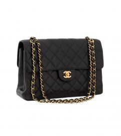CHANEL MAXI BLACK DOUBLE FACE FLAP BAG
