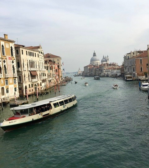 Our Expert Buyer at Venise, Italia