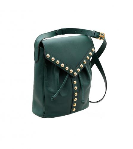 YSL VINTAGE GREEN SHOULDER
