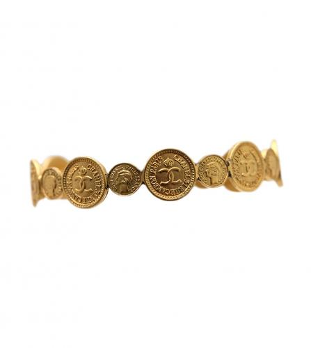CHANEL MINI COINS CUFF BANGLE
