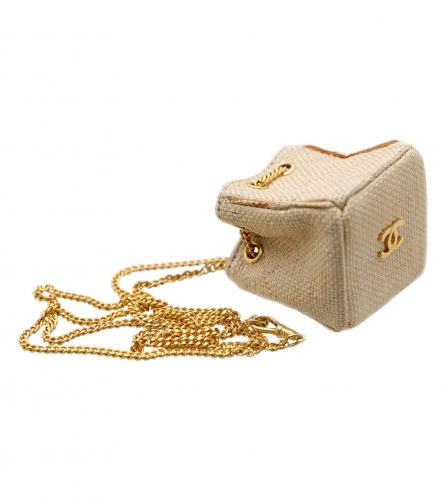 CHANEL MINI BAG CHARM NECKLACE