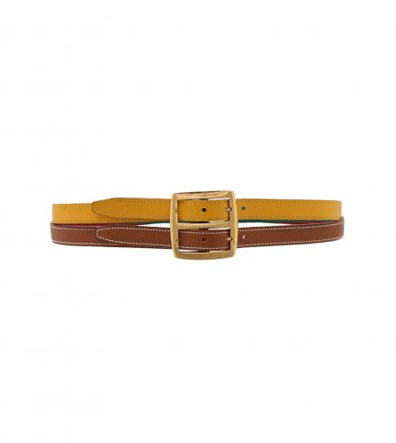 HERMES BI-COLOR REVERSIBLE BELT