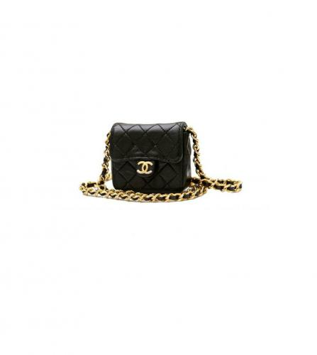 CHANEL MINIMINI MATELASSE CHARM NECKLACE