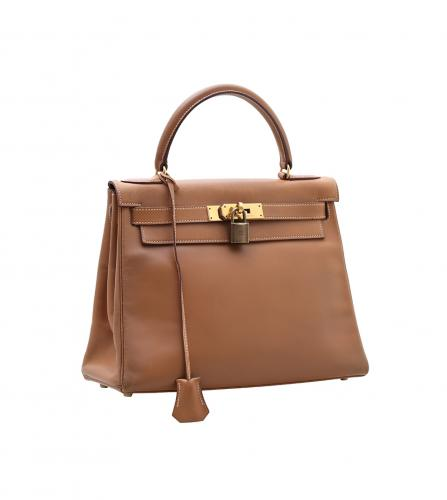 HERMES GOLD SWIFT KELLY 23