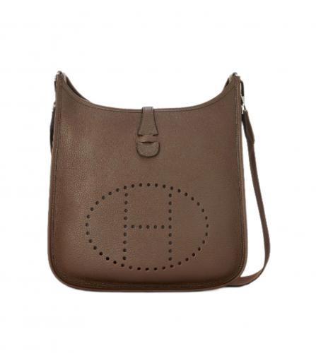 HERMES BROWN EVELYNE BAG