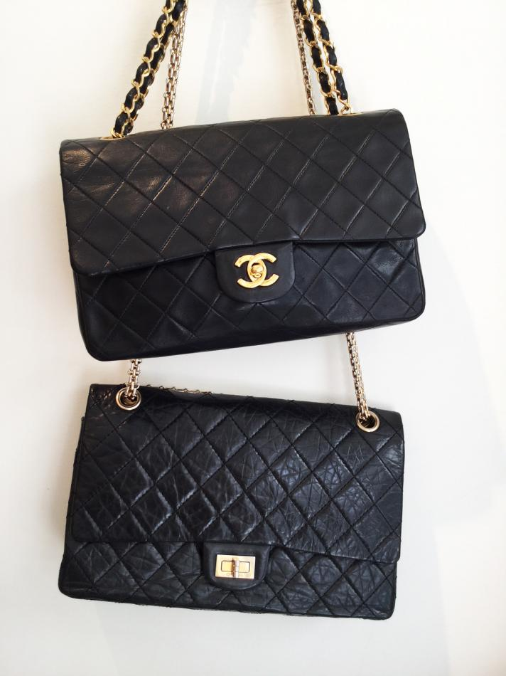 CHANEL ICONIC BAG Mademoiselle & 2.55