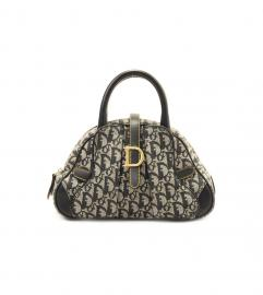 DIOR SADDLE BOWLING MINI BAG