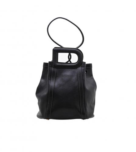 DELVAUX BLACK D BAG