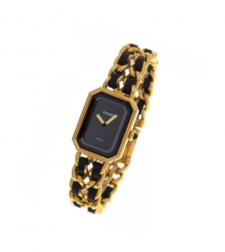 CHANEL PREMIER 18K GOLD WATCH