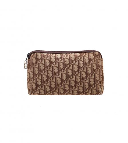 DIOR TROTTER MONOGRAM BROW POUCH / CLUTCH