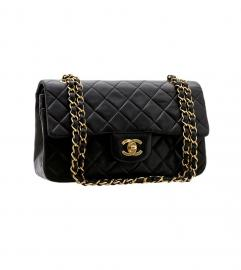 CHANEL CLASSIC 2.55 BLACK SHOULDER