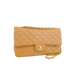 CHANEL CLASSIC GOLD MATELASSE SHOULDER