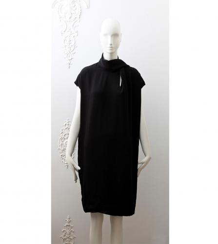 HERMES BLACK DRESS