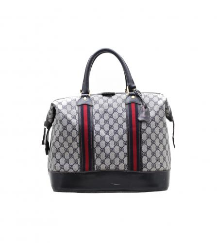 GUCCI VINTAGE MONOGRAM BOSTON BAG