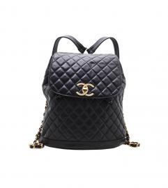 CHANEL VINTAGE BLACK BACKPACK