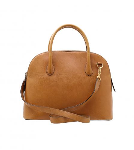 CELINE CAMEL GOLD BOLIDE 2WAY BAG