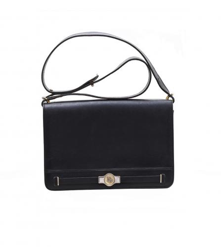 DIOR VINTAGE BLACK SHOULDER BAG