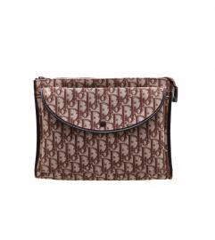DIOR VINTAGE 70's MONOGRAM CLUTCH BAG