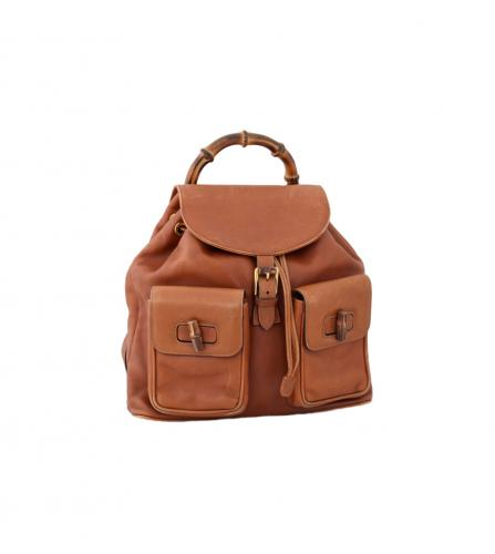 GUCCI VINTAGE BROWN BACK PACK