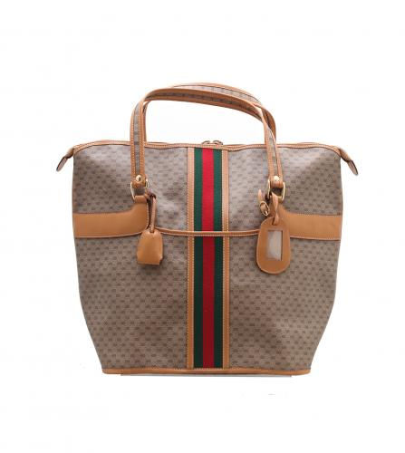 GUCCI VINTAGE MONOGRAM BOSTON