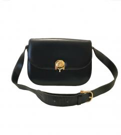 CELINE NAVY FLAP BAG