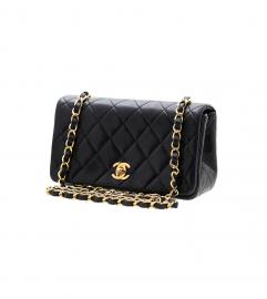 CHANEL VINTAGE CC MINI SHOULDER BAG