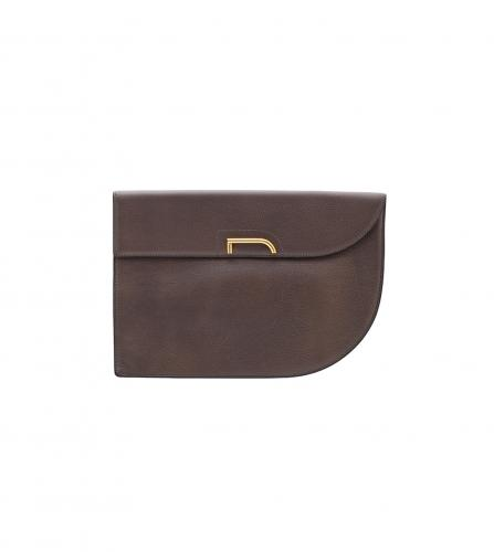 DELVAUX BROWN CLUTCH