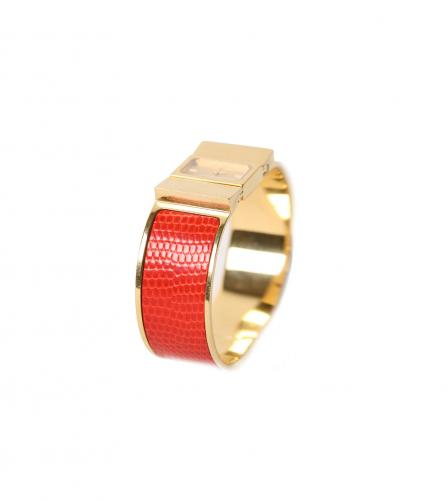 HERMES LOQUET RED WATCH