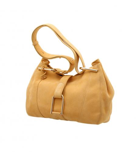 DELVAUX YELLOW HANDBAG